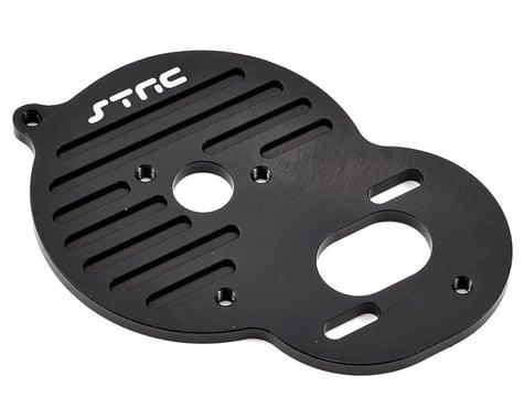 ST Racing Concepts Aluminum Heat Sink Motor Plate (Black)