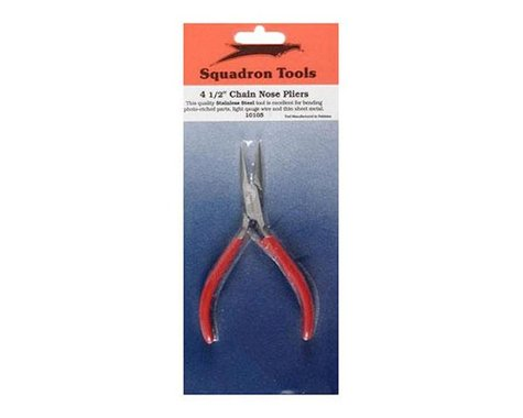"""Squadron Products Pliers,Chain Nose,4-1/2"""""""