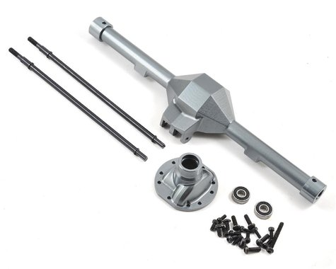 SSD RC Wraith Diamond Centered Rear Axle (Grey)