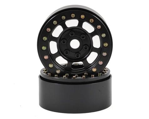 SCRATCH & DENT: SSD RC Trail 1.9 Steel Beadlock Crawler Wheels (Black) (2)