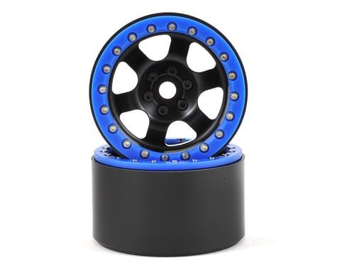 SSD RC Rock Racer 2.2 Beadlock Crawler Wheels (Black) (2)