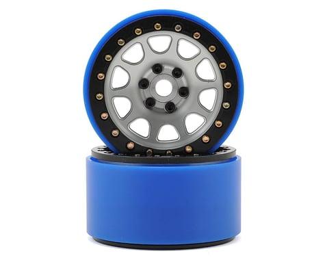 SSD RC 2.2 D Hole PL Beadlock Wheels (Silver) (2) (Pro-Line Tires)