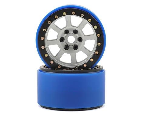 SSD RC 2.2 Wide Assassin PL Beadlock Wheels (Silver) (2) (Pro-Line Tires)