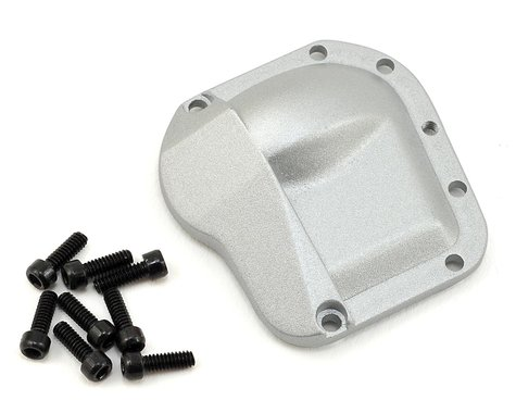 SSD RC Pro44 HD Metal Diff Cover (Silver)