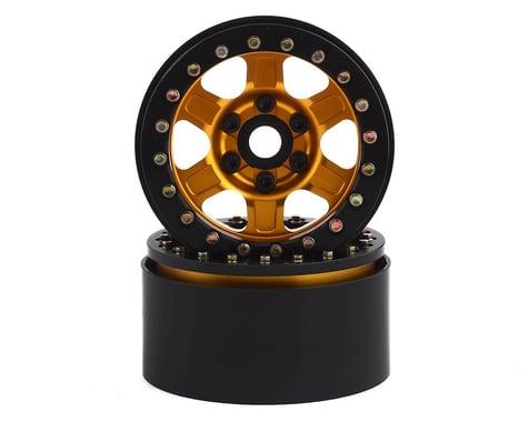 SSD RC Challenger 1.9 Beadlock Wheels (Gold) (2)