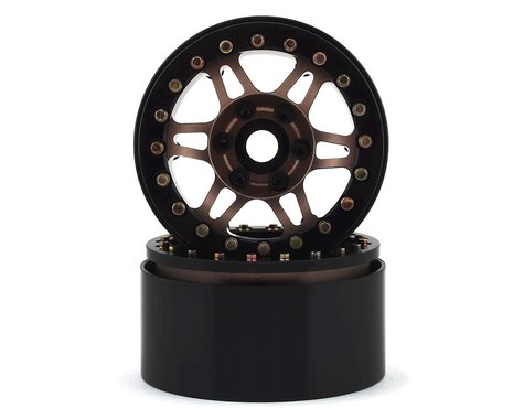 "SSD RC 1.9"" Prospect Beadlock Wheels (Bronze) (2)"