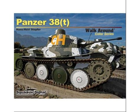 Squadron/Signal Panzer 38(t) Walk Around : Color