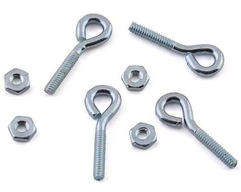 Sullivan 2-56 Threaded Eyebolts (4)