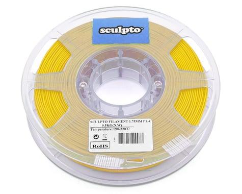 Sculpto 1.75mm PLA 3D Printer Filament (Yellow) (0.5kg)