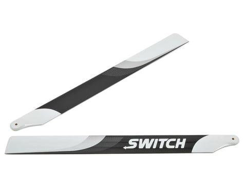 Switch Blades 253mm Premium Carbon Fiber Rotor Blade Set (Flybarless)