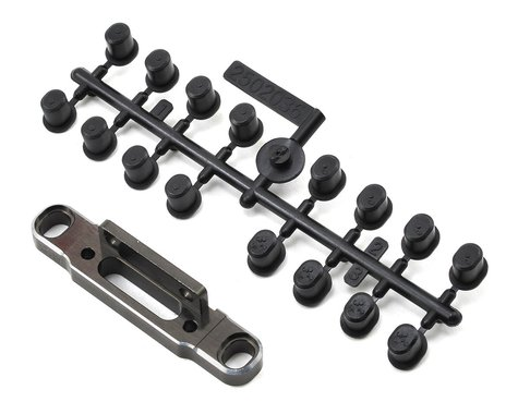SWorkz S35 Aluminum Rear Changeable Lower Arm Holder (2.5D) (LE)