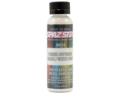 Spaz Stix High Quality Sandable Primer/White Airbrush Paint (2oz)