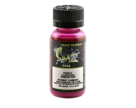 "Spaz Stix ""Purple"" Fluorescent Paint (2oz)"