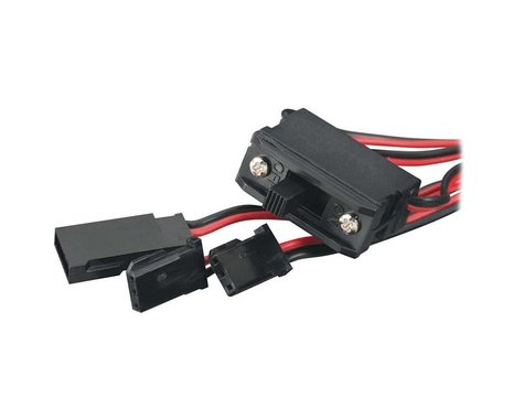 Tactic Switch Harness with Charge Plug: Futaba J