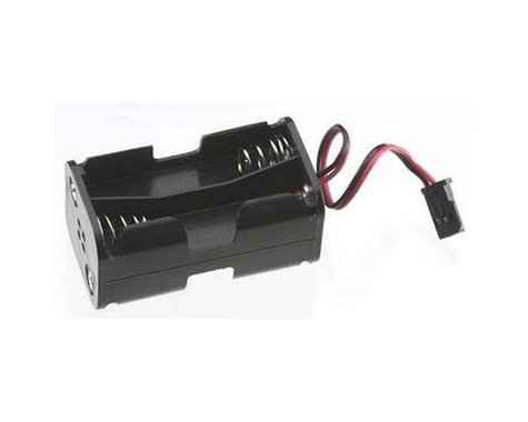 Tactic 4 Cell AA Battery Holder with Futaba J Connector
