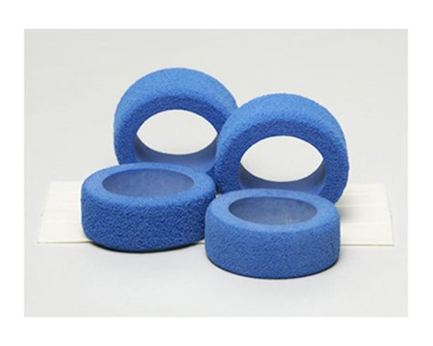 Tamiya JR Reston Sponge Tire (Blue) (4)