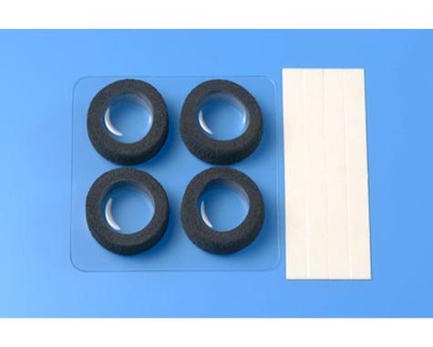 Tamiya JR Narrow Reston Sponge Tires (Black)