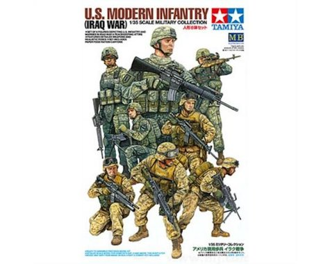 Tamiya 1/35 US Modern Infantry Iraq War
