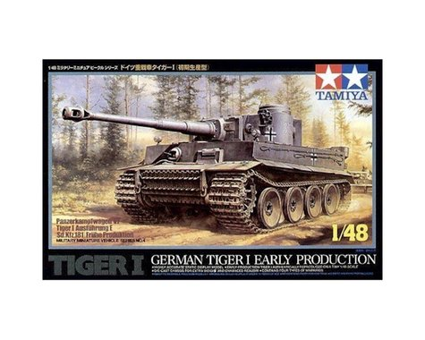 Tamiya 1/48 German Tiger l-Early