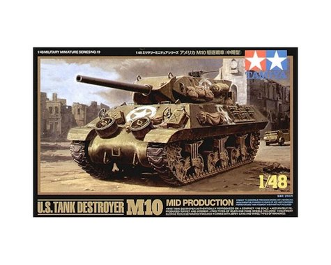 Tamiya 1/48 US Tank Destroyer M10