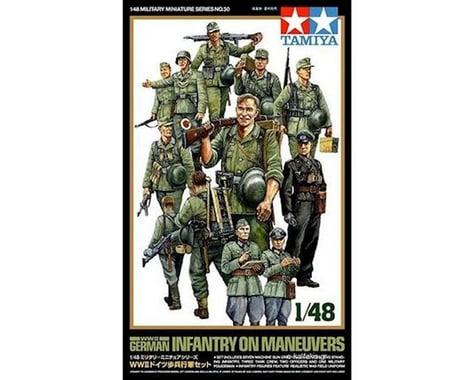 Tamiya 1/48 WWII Germ Infantry-Manue