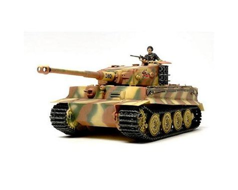 Tamiya 1/48 German Tiger I Late Production