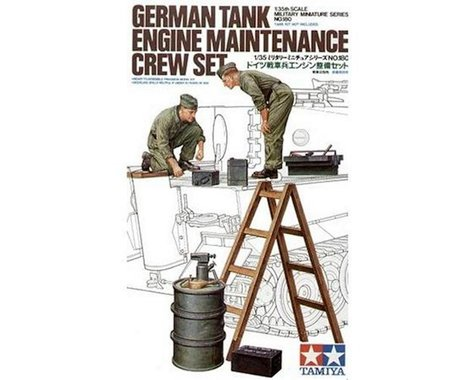 Tamiya 1/35 German Tank Engine Crew