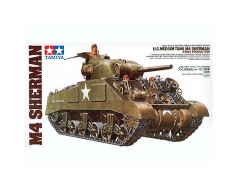 Tamiya 1/35 U.S. Medium Tank M4 Sherman Model Kit