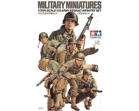 Tamiya 1/35 U.S. Army Assault Infantry Set