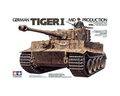 Tamiya Tiger I Mid Production 1/35 Tank Model Kit