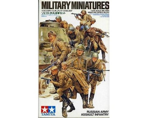 Tamiya 1/35 Russian Army Assault Infantry Set