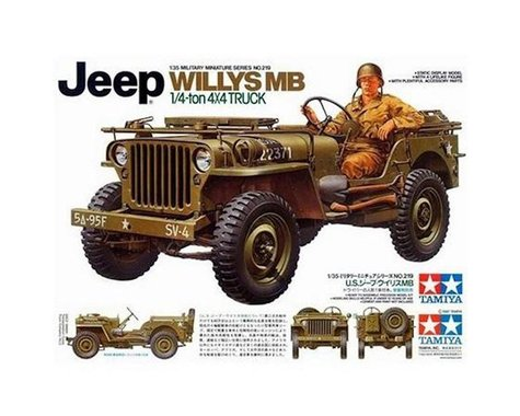 Tamiya 1/35 Jeep Willys MB 1/4 Ton Truck
