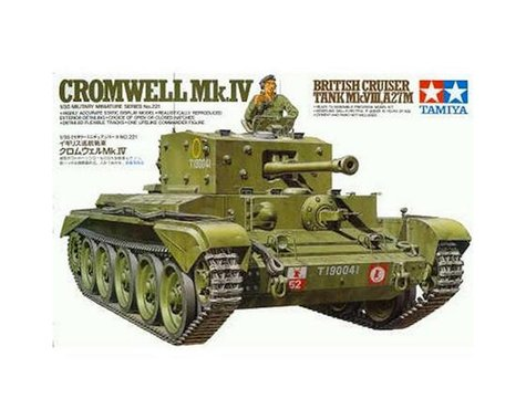 Tamiya 1/35 Cromwell Mk.IV Cruiser Tank Model Kit