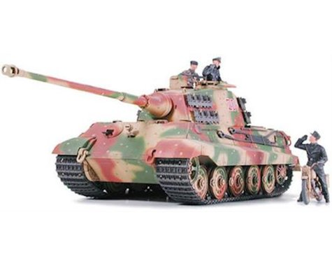 Tamiya 1/35 German King Tiger Tank Ardennes Front