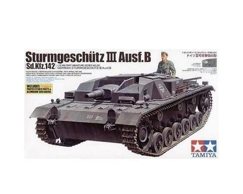 Tamiya 1/35 German Sturmgeschutz III Ausf. B Tank Model Kit