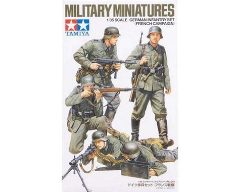 Tamiya 1/35 German Infantry Set French Campaign