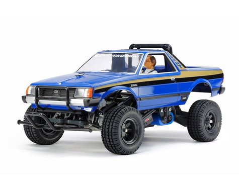 Tamiya Subaru Brat Limited Edition 1/10 Off-Road 2WD Pick-Up Truck Kit (Blue)