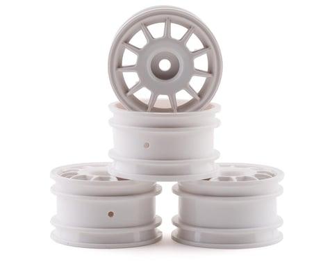 Tamiya M-Chassis 11 Spoke Racing Wheels (White) (4)