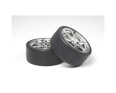 Tamiya Tires/Wheels (2): Drift Type D, 26mm