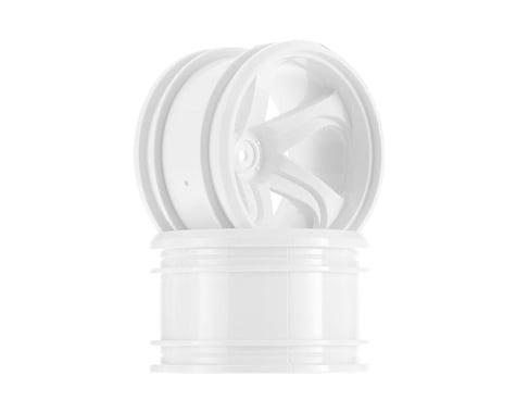 Tamiya 5-Spoke Wheels White GF-01