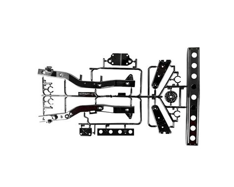 Tamiya F Parts Black Plated GF-01/WR-02
