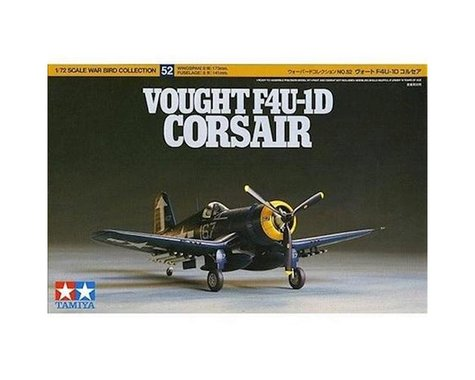 Tamiya 1/72 Vought F4U-1D Corsair Model Kit