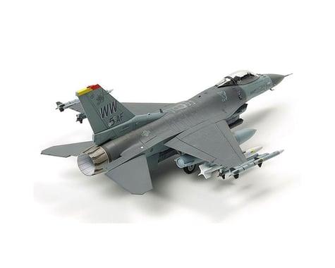 Tamiya 1/72 F-16 CJ Fighting Flacon Model Kit w/ Equipment