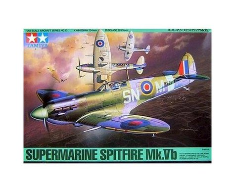 Tamiya Supermarine Spitfire MK Vb 1/48 Airplane Model Kit