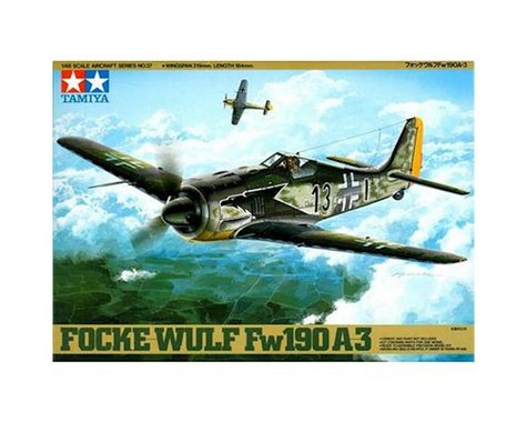 Tamiya 1/48 Focke Wulf FW190 A3
