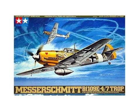 Tamiya 1/48 Messerschmitt Bf109E-4/7 Tropical Model Kit