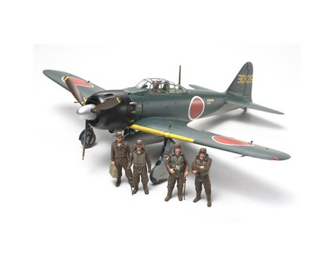 Tamiya 1/48 A6M5/5a Zero Fighter, Zeke