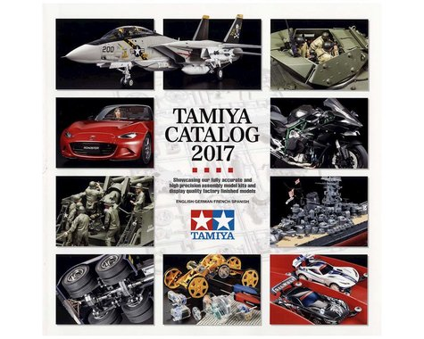 Tamiya 2017 Tamiya Catalog