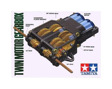 Tamiya Twin-Motor Gearbox Kit