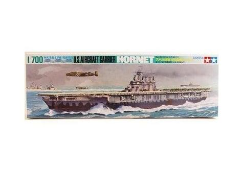 Tamiya 1/700 USS Hornet Aircraft Carrier Model Kit